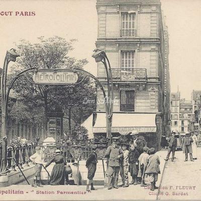 TOUT PARIS 1241 - Le Metropolitain - Station Parmentier