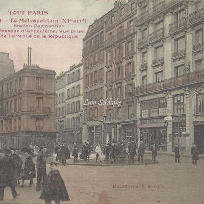 TOUT PARIS 654 - Le Metropolitain - Station Parmentier