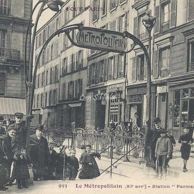 TOUT PARIS 933 - Le Metropolitain - Station Parmentier