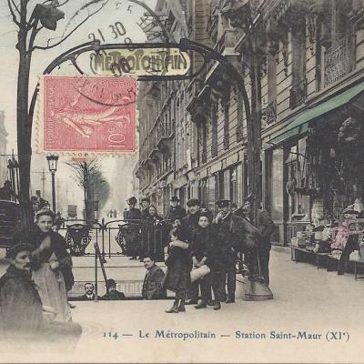 CP 114 - Le Metropolitain - Station Saint-Maur