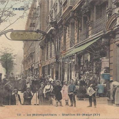 CP 141 - Le Metropolitain - Station St-Maur