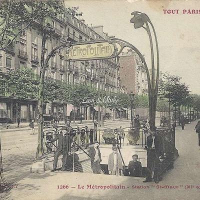 Tout Paris 1266 - Le Metropolitain - Station St-Maur
