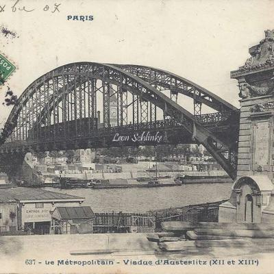 CP 637 - Le Metropolitain - Viaduc d'Austerlitz