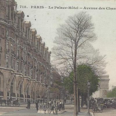 CM 718 - Le Palace Hotel Avenue des Champs Élysées