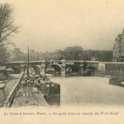 Le petit bras en amont du Pont-Neuf