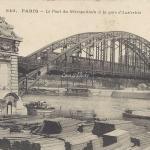 CM 840 - Le Pont du Metropolitain à la Gare d'Austerlitz