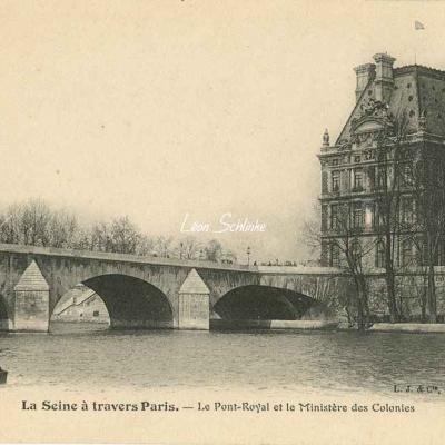 Le Pont-Royal et le Ministère des Colonies