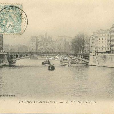 Le Pont Saint-Louis
