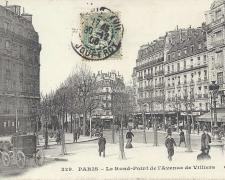 CM 329 - Le Rond-Point de l'Avenue de Villiers