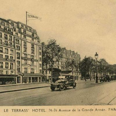 C.F.I.P. - Paris - Le Terrass' Hotel. 74-76 Avenue de la Grande-Armée