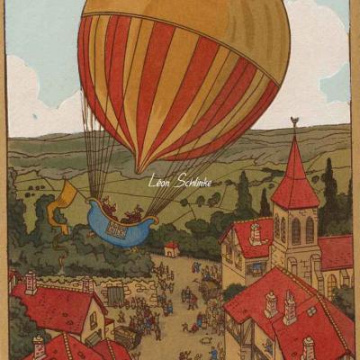 1203 - Les Montgolfières