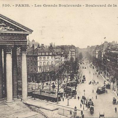 JH 520 - Les Grands Boulevards - Boulevard de la Madeleine
