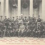 Les Officiers étrangers aux Manoeuvres d'Armée 1902