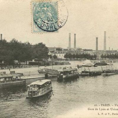 LF & V 16 - Gare de Lyon et Usines du Métropolitain