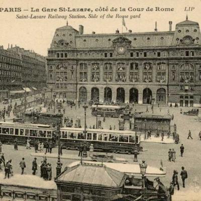 LIP 197 - La Gare Saint-Lazare, côté Cour de Rome