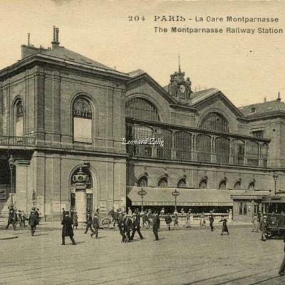 LIP 204 - PARIS - La Gare Montparnasse