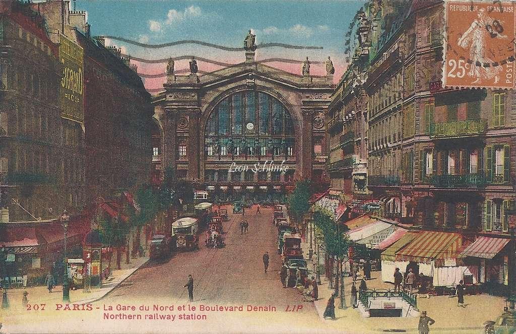 LIP 207 - La Gare du Nord et le Boulevard Denain