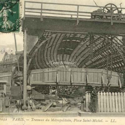 LL 1032 - Travaux Place Saint-Michel