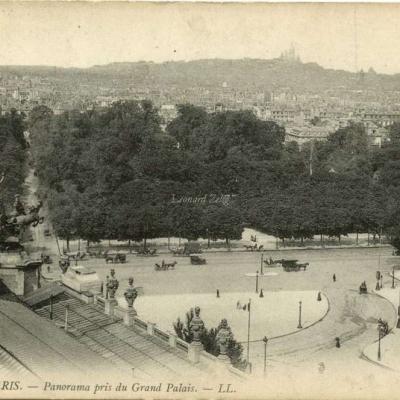 LL 1099 - PARIS - Panorama pris du Grand Palais