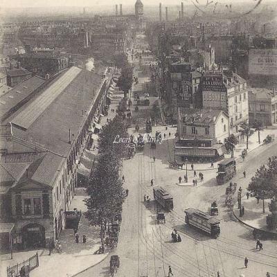 LL 1149 - Panorama de la Rue  de  Lyon