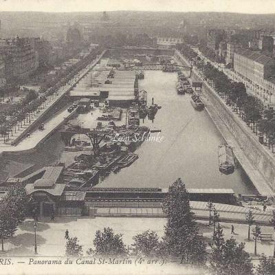 LL 1228 - Panorama du Canal St-Martin