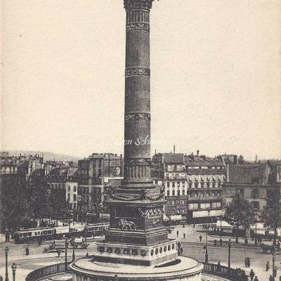 LL 1244 - Place de la Bastille et la Colonne de Juillet