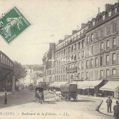 LL 1279 - Boulevard de la Villette