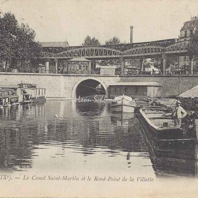 LL 139 - Le Canal St-Martin et le Rd·Pt de la Villette