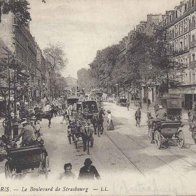 LL 1411 - Le Boulevard de Strasbourg