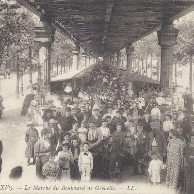 LL 1454 - Le Marché du Boulevard de Grenelle