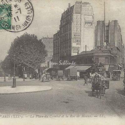 LL 1649 - La Place du Combat et la Rue de Meaux