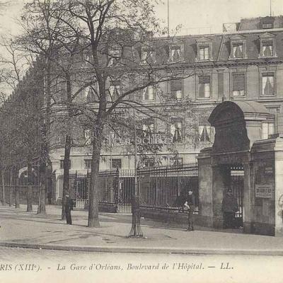 LL 1690 - La Gare d'Orléans, Boulevard de l'Hôpital