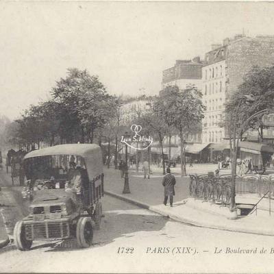 LL 1722 - Le Boulevard de Belleville
