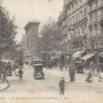 LL 1802 - Le Boulevard et la Porte Saint-Denis