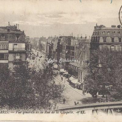 LL 1805 - Vue générale de la Rue de la Chapelle