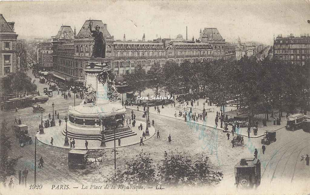 LL 1929 - Place de la Pepublique