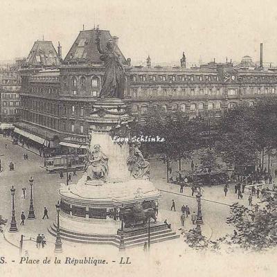 LL 1929 - Place de la République
