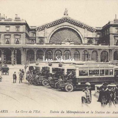 LL 227 - La Gare de l'Est, Métro et Autobus