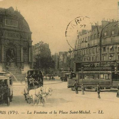 LL 281 - La Fontaine et la Place Saint-Michel
