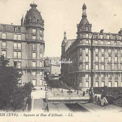 LL 310 - Square et rue d'Alboni