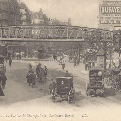 LL 312 - Le Viaduc du Métropolitain, Boulevard Barbès