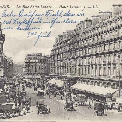 LL 353 - La Rue Saint-Lazare - Hôtel Terminus