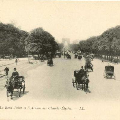 LL 6 - Le rond-Point et l'Avenue des Champs-Elysées