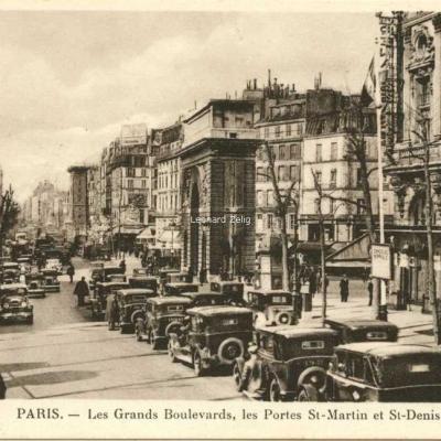 LL 60 - PARIS - Les Grands Boulevards, les Portes St-Martin et St-Denis