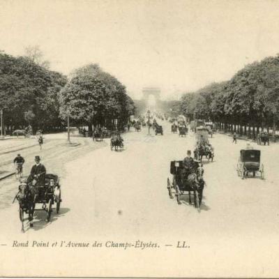 LL 7 - Rond Point et l'Avenue des Champs-Elysées