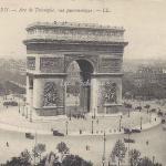 LL 704 - Arc de Triomphe, vue panoramique