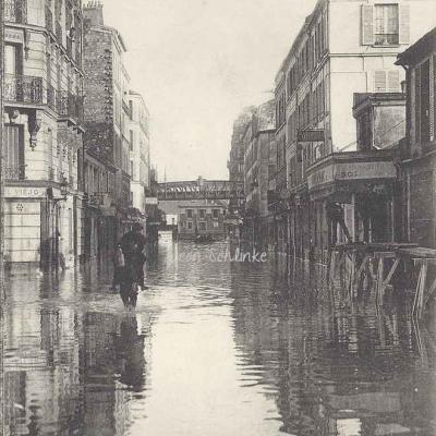 LL 72 - Inondations de Paris rue de Lourmel