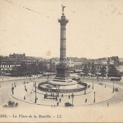 LL 805 - La Place de la Bastille
