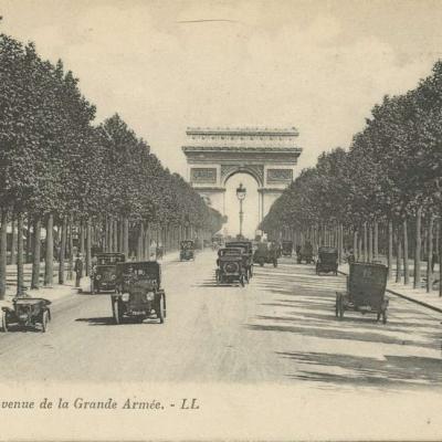 LL 9 - Paris - Avenue de la Grande Armée