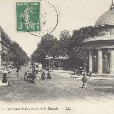 LL 915 - Boulevard de Courcelles et la Rotonde